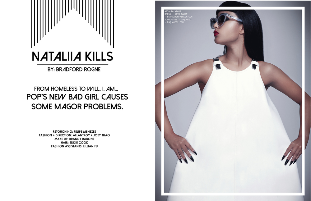 Nataliia Kills Photographed by Bradford Rogne