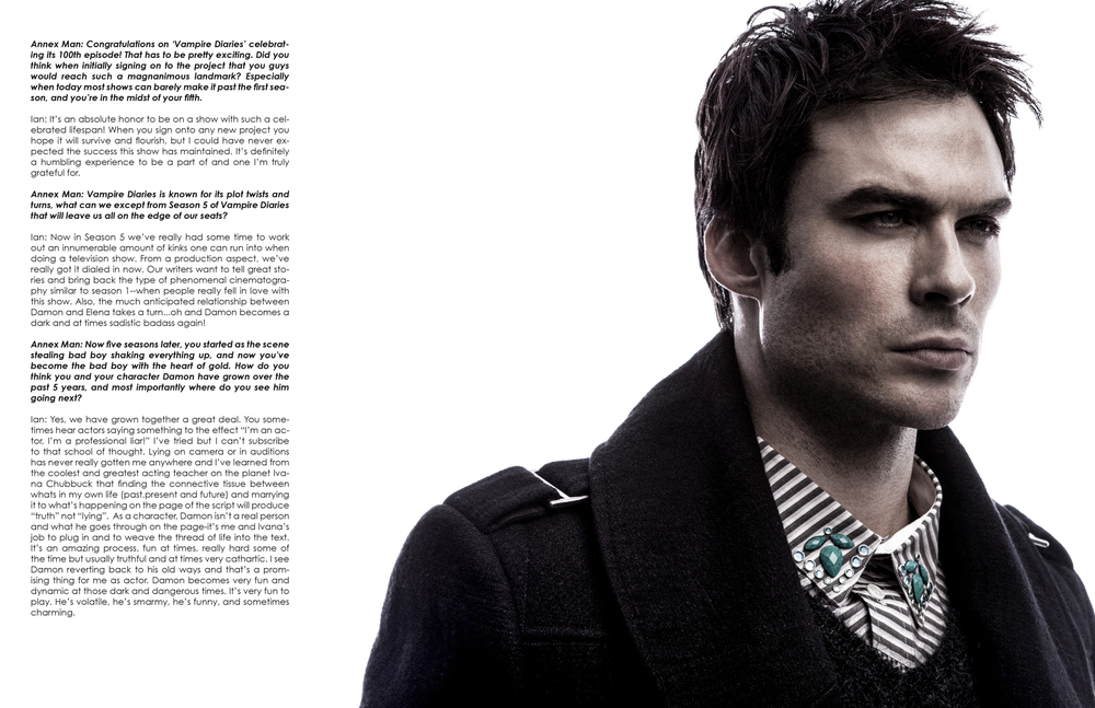 Ian Somerhalder Photographed by Bradford Rogne