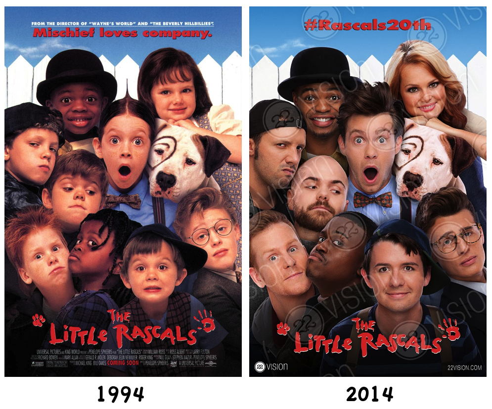 The Little Rascals 20 year reunion Photographed by Bradford Rogne