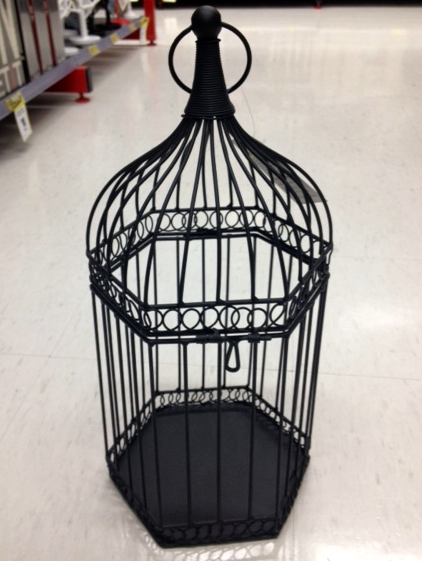 The Birdcages I Found In Reject Shop Really Reminded Me Of This Birdcage That Was Featured Wedding Wishing Well Inspiration Post