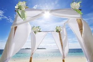 Image result for bora bora wedding