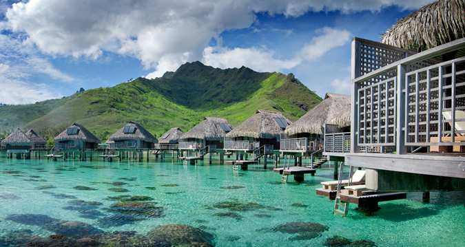 Hilton moorea lagoon resort and spa gone tropo travel for Garden pool bungalow hilton moorea
