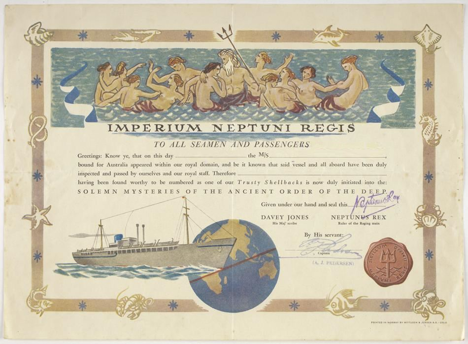 Neptune Certificate