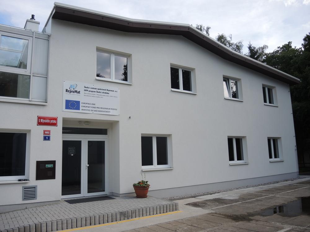 Budova školicího centra v Hořovicích