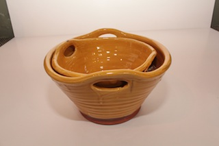 Tony Sly Bowl with Open Handles $37 - 220mm x 120mm, $75 - 260mm x 140mm
