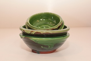 Tony Sly Olive Bowls $18 - 40mm x 110mm, $22 - 145mm x 50mm