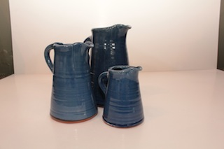 Tony Sly Tall Jug $30 - 120mm x 70mm, $45 - 165mm x 80mm, $67 - 230mm x 100mm Available in Blue (shown) Yellow, Green and Brown