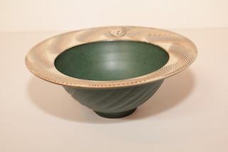 Peter Shearer Bowl $85 -  215mm x 90mm $225 - 320mm x 110mm.JPG