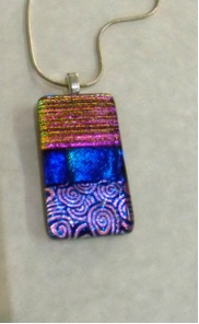Dichroic Pendant  Approx 42mm long