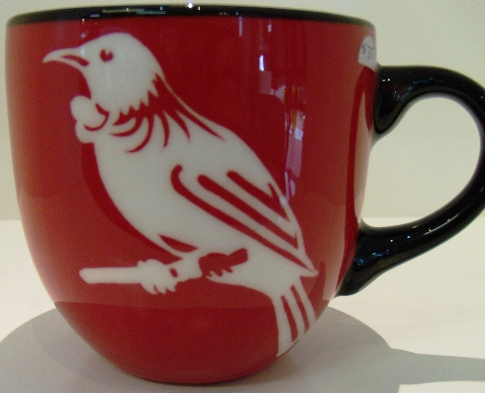 Tui Mug $35 Diameter 95mm x 90mm h