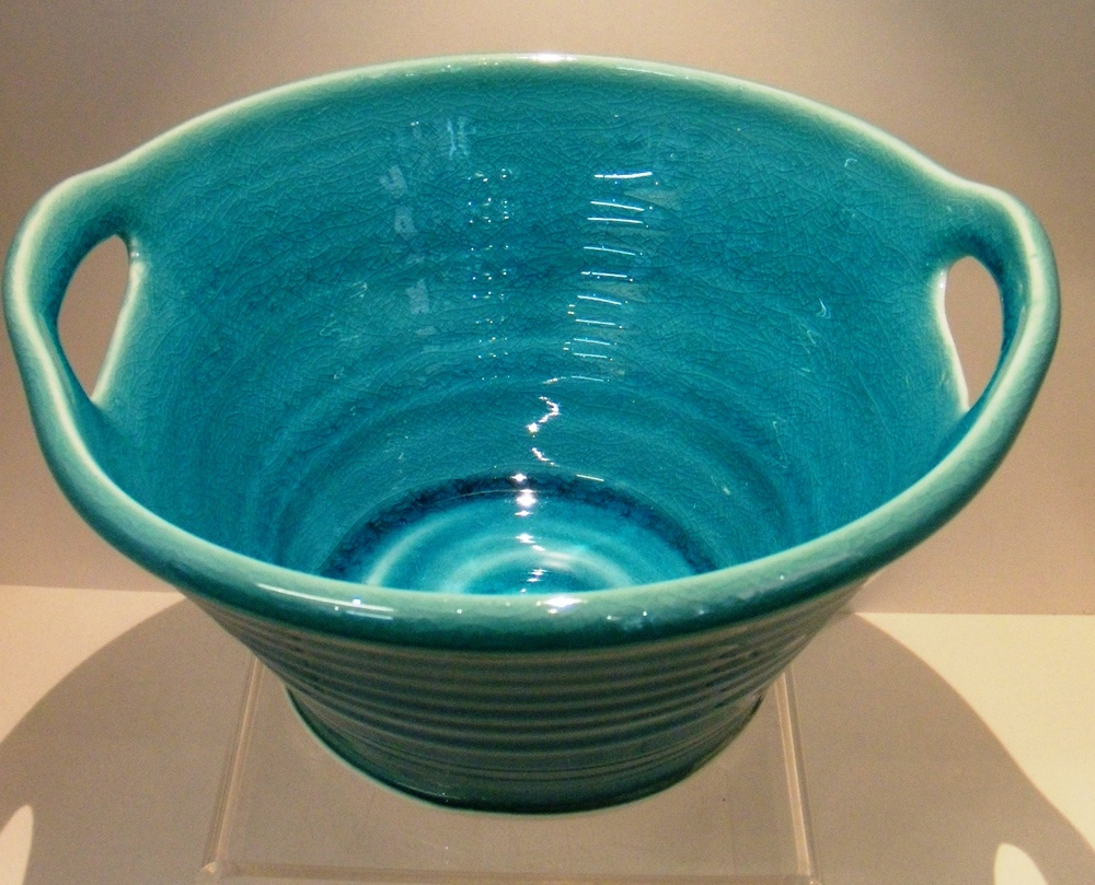 Classic Turquoise Cut out Bowls Small $37- 190 mm d x 100 mm h Med $76 - 230 mm d x 125 mm h