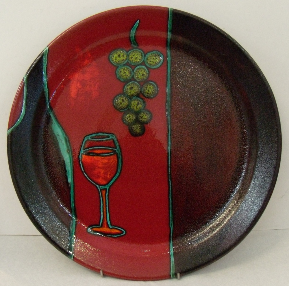 Wine Platter $177 Measures 480 mm diameter $122 Measures 380 mm d $99.50 Measures 290 mm d
