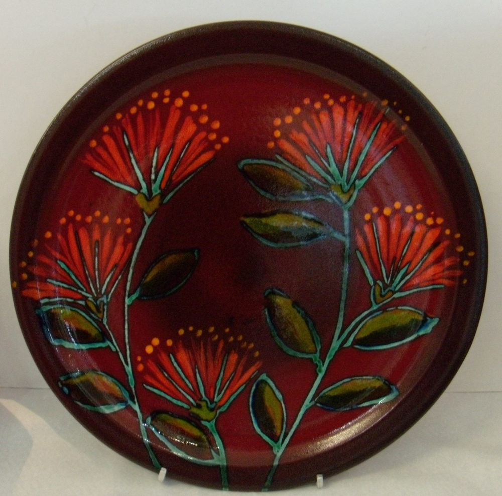Rata Flowers Platter $177 measures 480 diameter $122 Measures 380 mm diameter $99.80 Measures 290 mm diameter