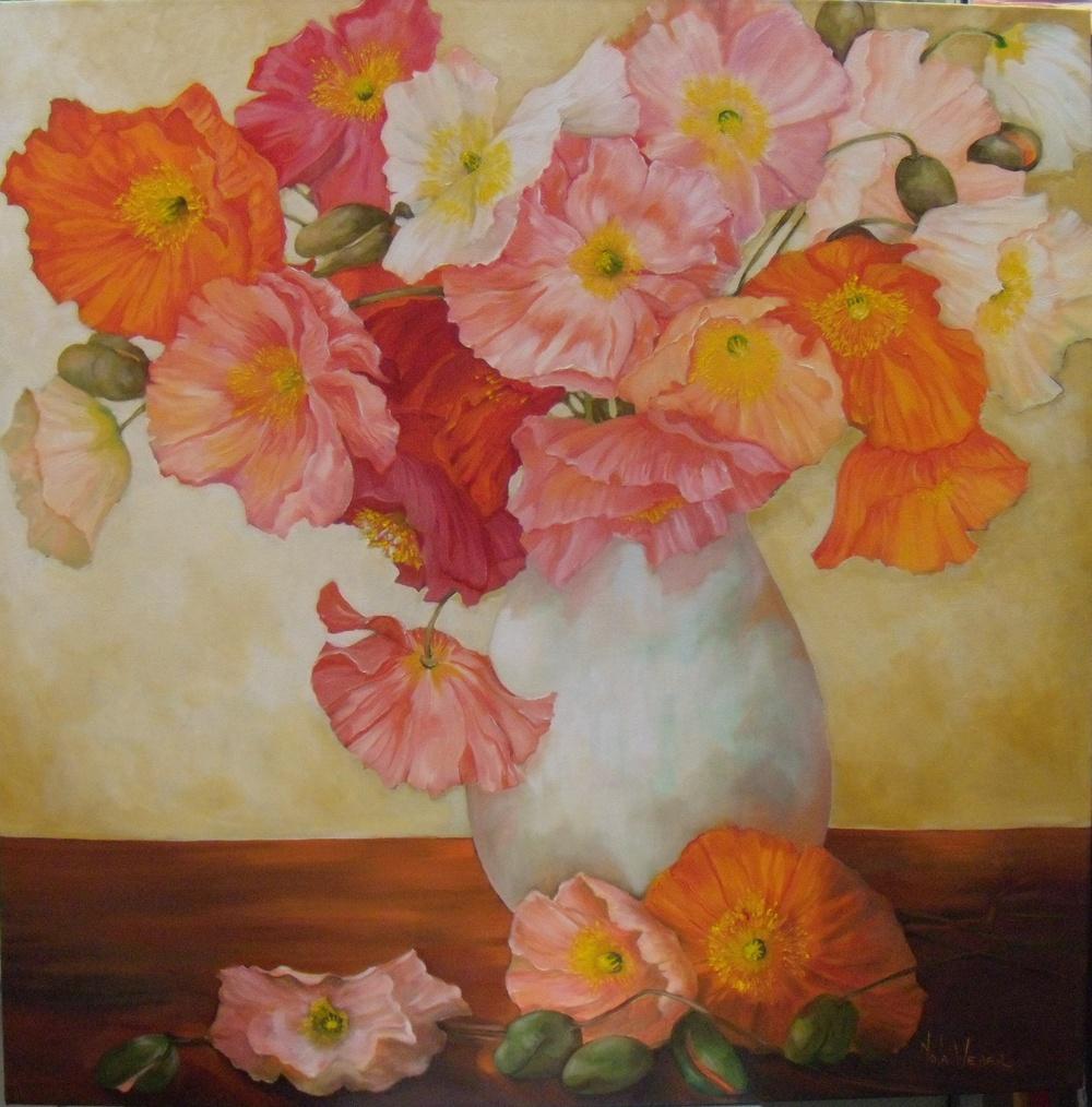 Fleurs d' ete $1675 Measures 770 mm square