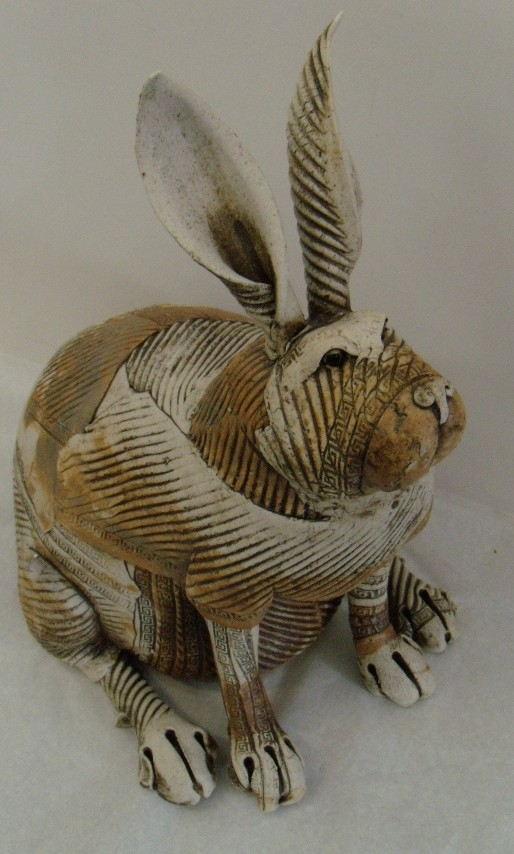 Fat Rabbit 1 $320 Measures approx 340 mm w x 340 mm h