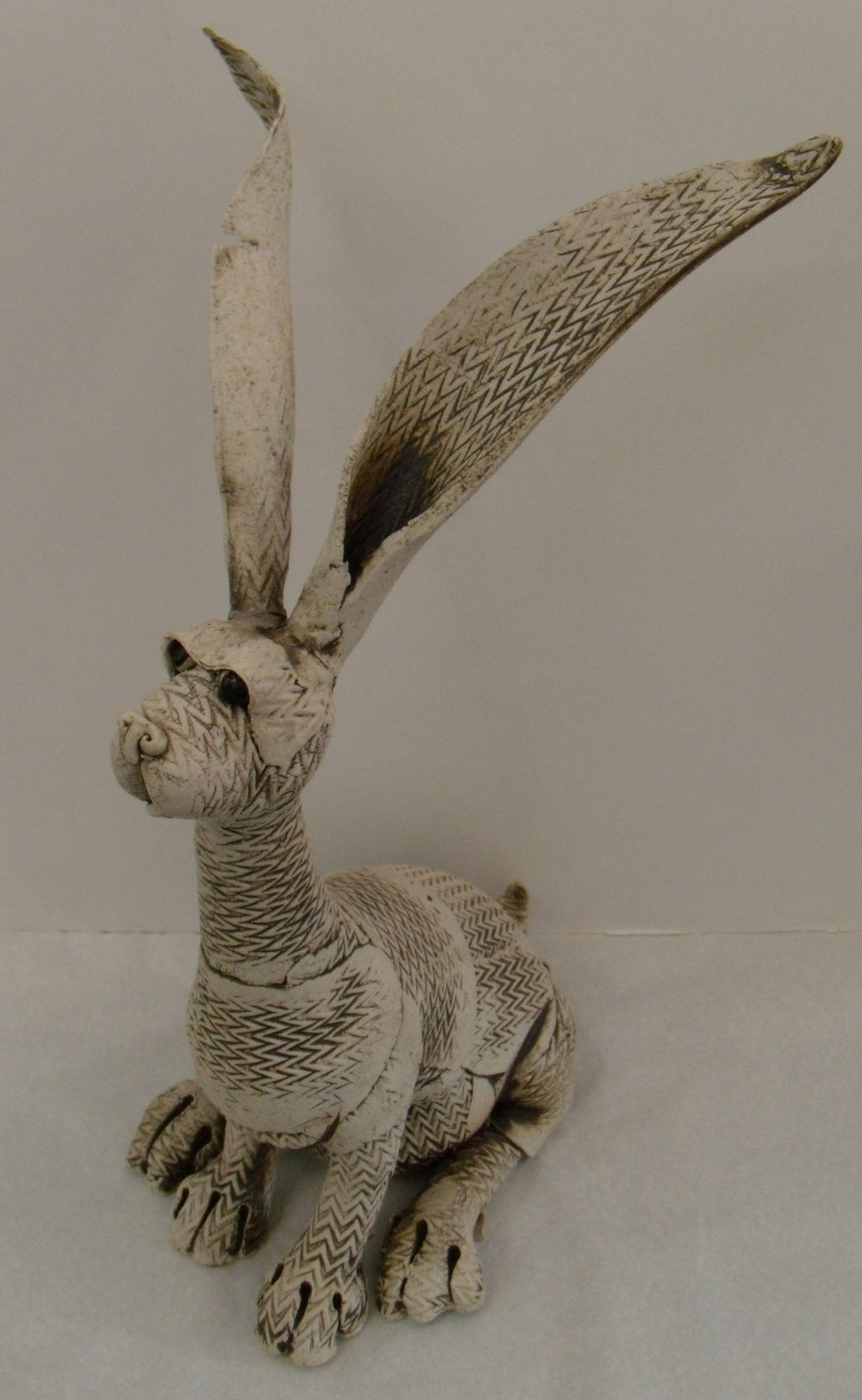 Rabbit with Big Ears $280 Measures approx 300 mm w x 475 mm h
