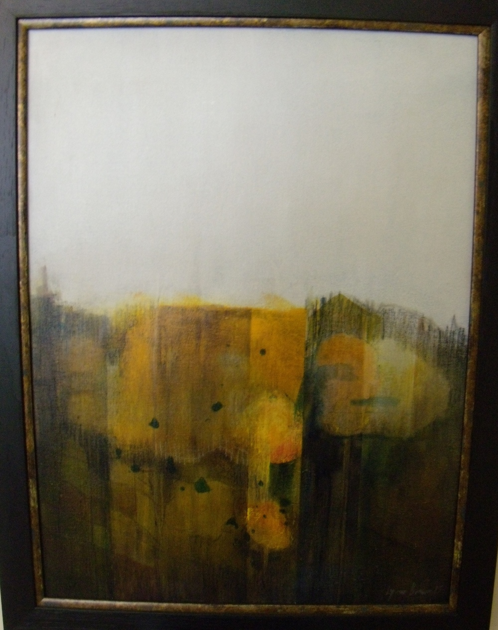 Seasonal Differences $800 Framed size 540 mm w x 695 mm h