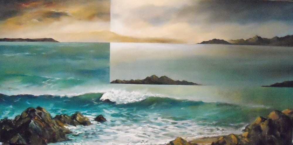Coastal Character $2600 Measures 910 mm w x 460 mm h