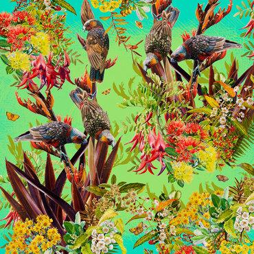 Garden Kaka 3 $615 Framed size 00 mm w x 830 mm h