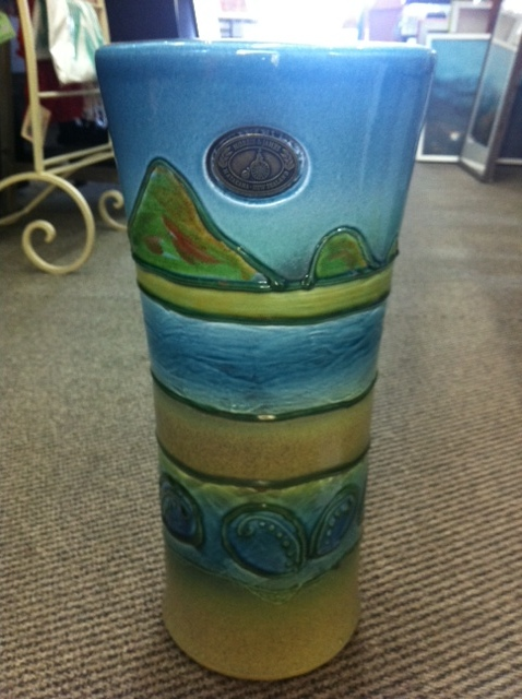 This Morris and James pot is called Paua Coast 175.00
