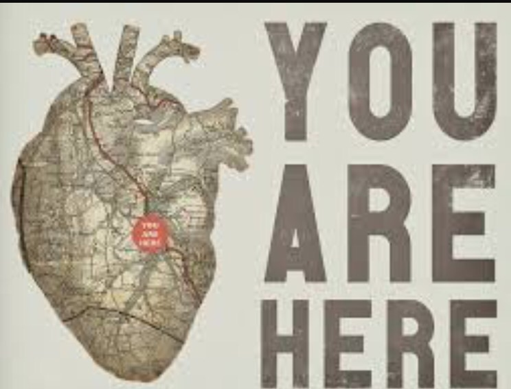 "I took this to Swag, the man the legend the artist and told him that I'd love this heart and I'd like to incorporate two maps: one side San Bernardino and one side Los Angeles. ""Easy"" he said.   He built it and put the red dot right in the center of the heart, then he says to me "" lets get real personal, let's make the street names people who you love or mean something to you in your life right now.""    well fuck! That couldn't make any more sense!    Swag was one those people who understood me, I'd walk with a very either minmul idea and he's blow it up to be ten times what I imagined or I come in with over produced idea he'd pull it down a little and say it with very little noise.    So my heart was not only stitched on my right arm but now my heart is fully exposed and on display and aloud we (swag and I) convey a piece for those family and friends whom impacted my life.   Names of streets:   narcisa   frank    Valerie    Marisa    jeramiah    leslie    madison   jesse    jayson  patti    tattoo lounge    Shannon    dennis    Roger    Jose   Dom  and there were more to be added but due to the circumstance those names will not be addressed in this thank you piece."