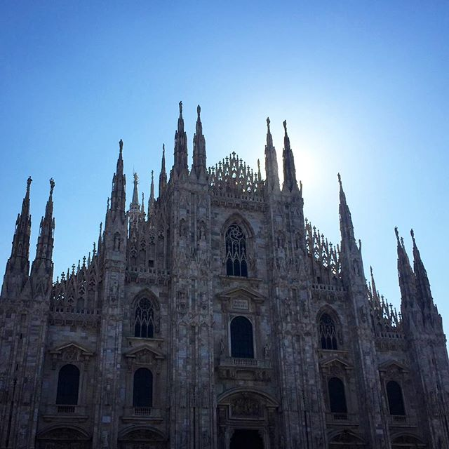 Annual token Duomo shot ✔️Only the finishing touches remain at via Palermo 11. Open tomorrow at 10am #madeinratio