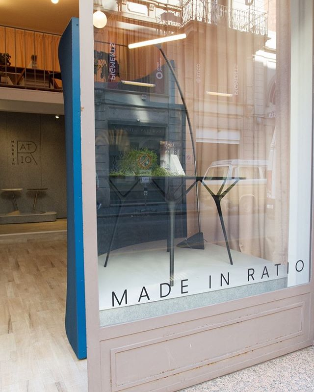 Day 5 & a sunny Saturday in the Brera.  We're open until 7pm at via Palermo 11 #MadeinRatio