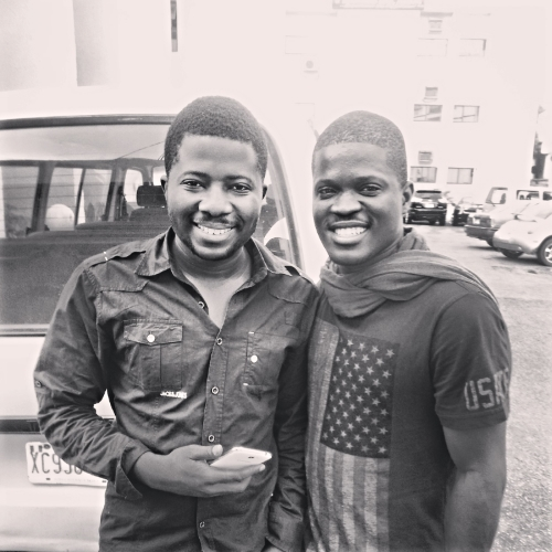 Jeremiah Gyang and Laolu in 2013 Abuja, Nigeria
