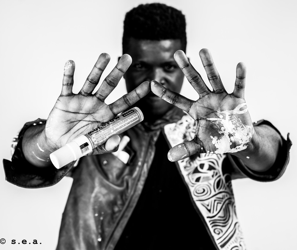 Laolu's hands by S.E.A.