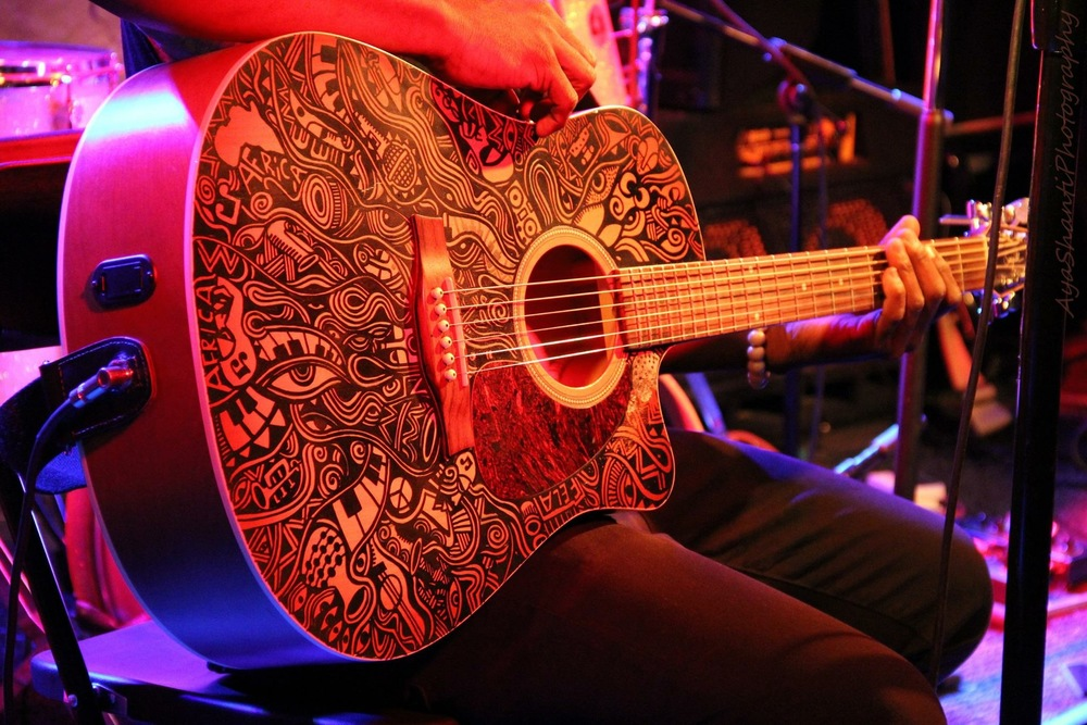 Acoustic Guitar Tattoo by Laolu Image by Aya Shanti
