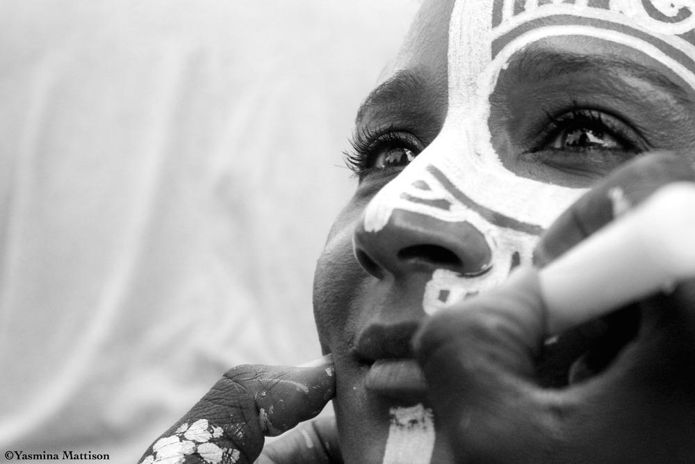 Laolu paints Dr. Jameelah Gater