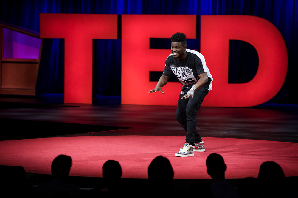 Laolu giving his inspiring TED Talk at TED Conference 2017 in Vancouver, BC, Canada  Read more here  Laolu's TED TALK will be available in June 2017.