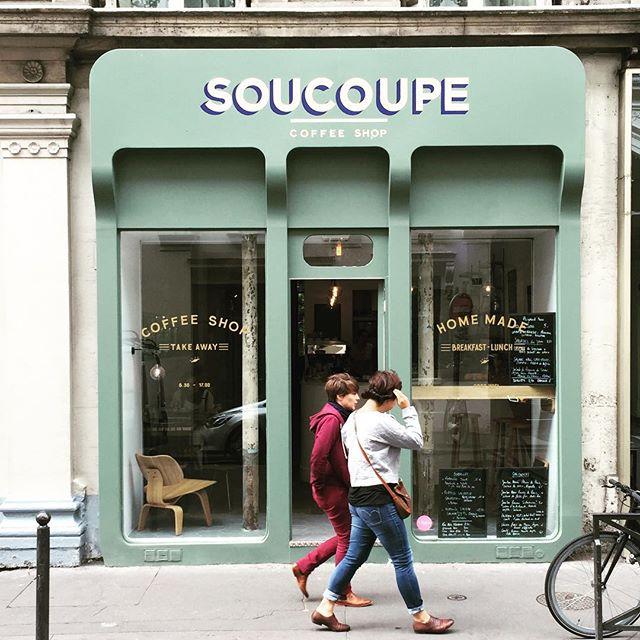 Paris soucoupe. #coffeetime