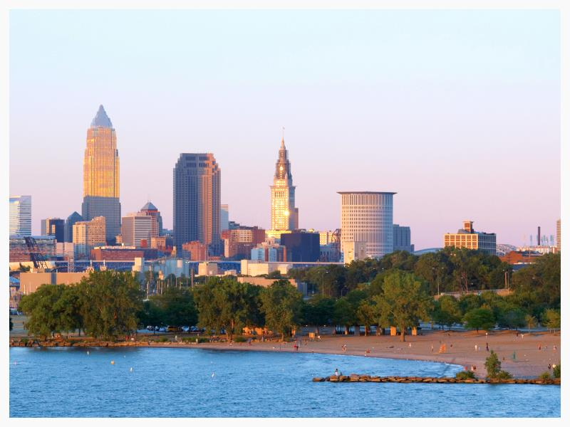 Cleveland, Ohio. Make no mistake about it.