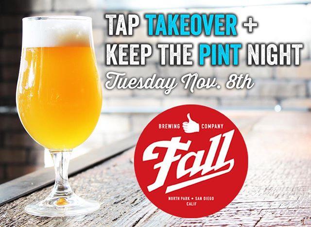 Join us tonight! #saltandcleaver #sandiego #beerevents #craftbeer