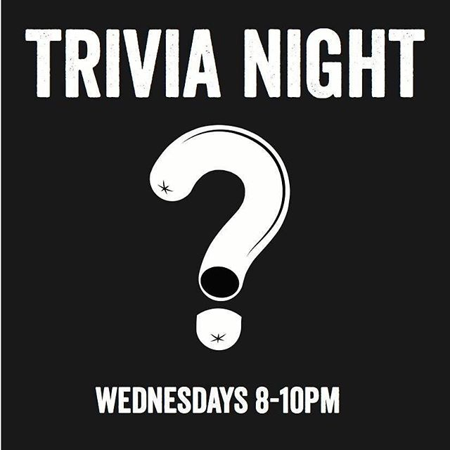 TONIGHT IS OUR LAST TRIVIA NIGHT EVER. JOIN US!