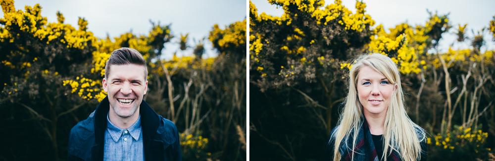 Scarborough seaside pre-wedding shoot