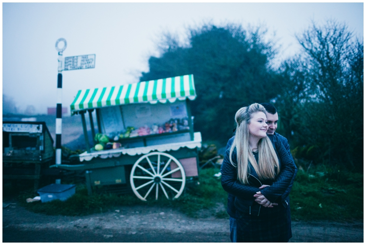 Scarborough Mere & Hackness Engagement Shoot