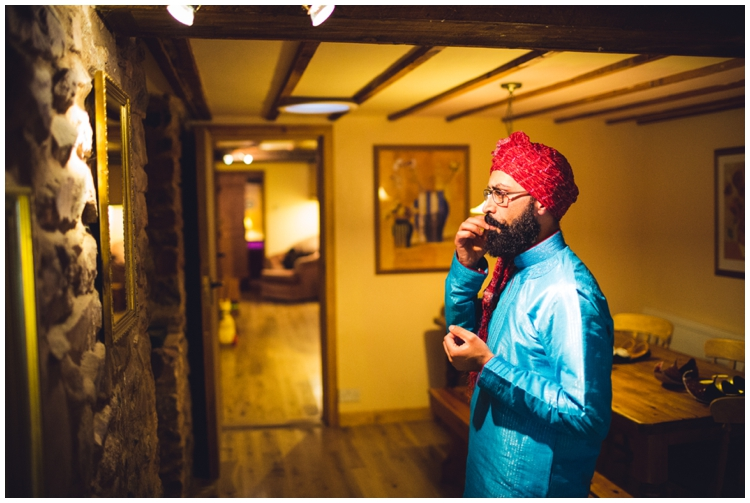 Knowle Manor Indian Wedding Dunster Somerset
