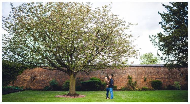 Hazelwood Castle Engagement Shoot