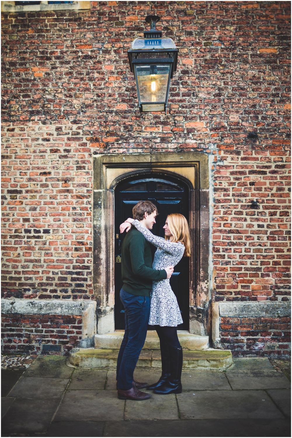 Cambridge University Engagement Photo