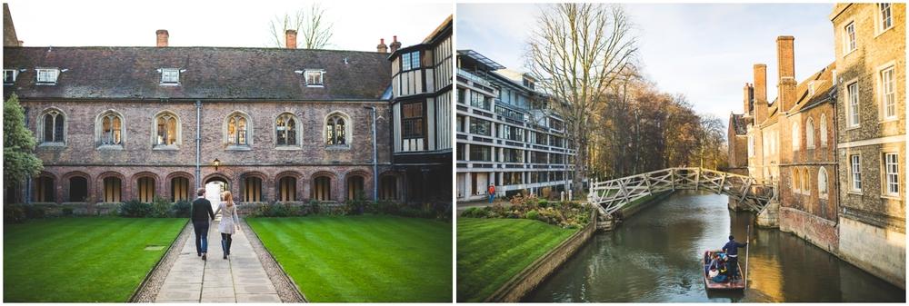 Cambridge University Engagement Photos