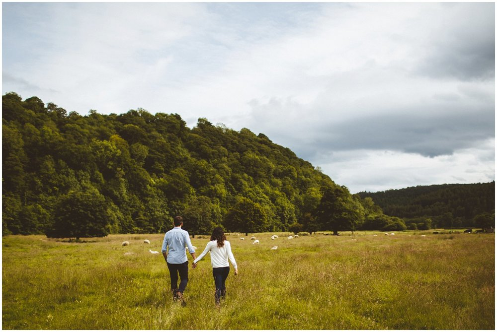 Rievaulx Abbey In Helmsley Engagement Photography_0002.jpg