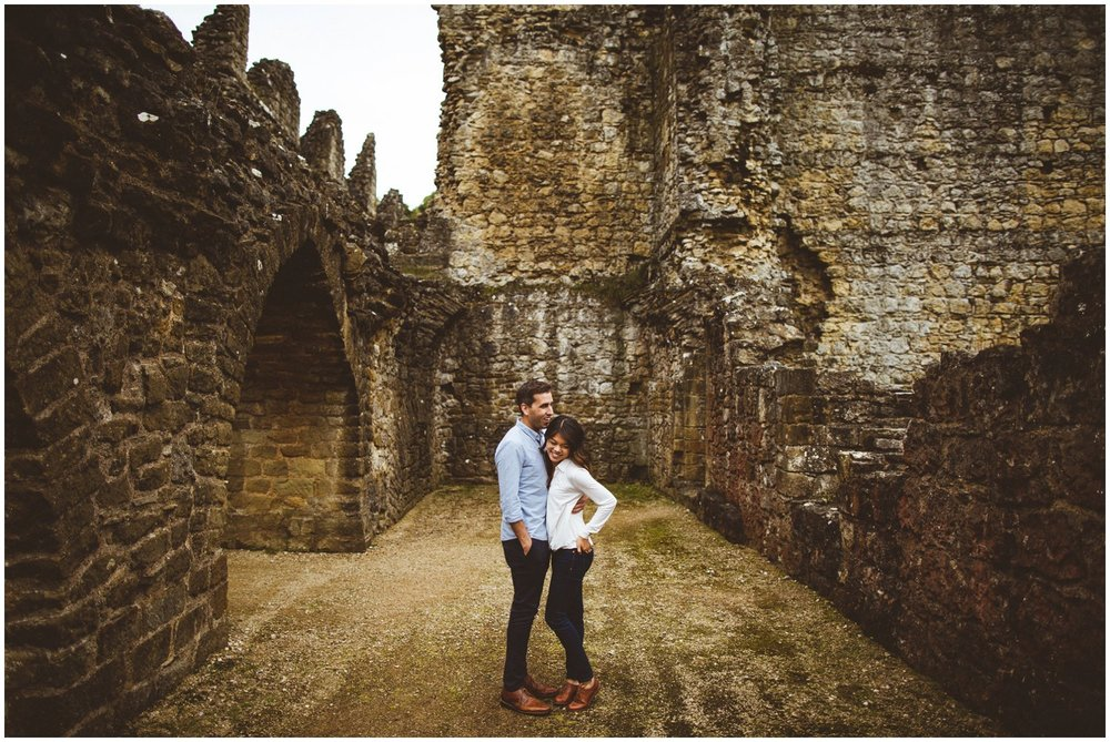 Rievaulx Abbey In Helmsley Engagement Photography_0005.jpg
