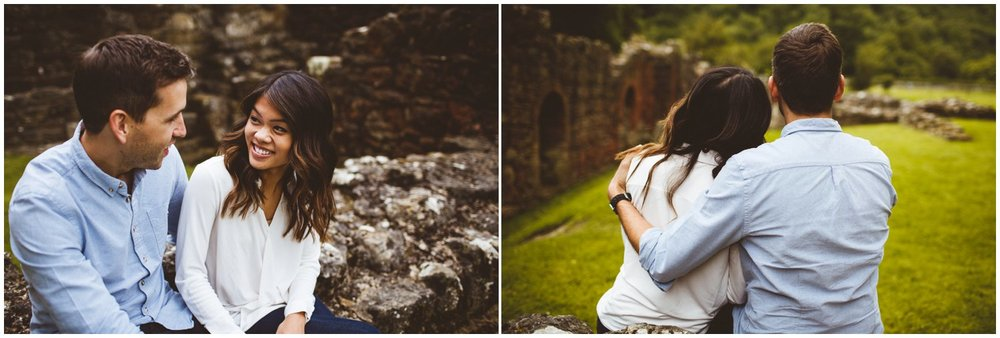 Rievaulx Abbey In Helmsley Engagement Photography_0008.jpg