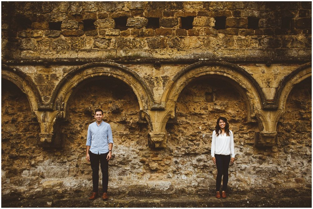 Rievaulx Abbey In Helmsley Engagement Photography_0014.jpg