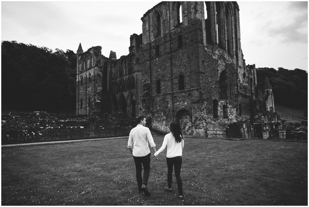 Rievaulx Abbey In Helmsley Engagement Photography_0015.jpg