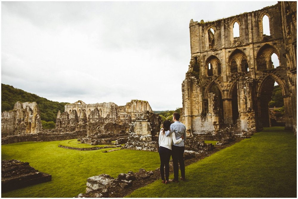 Rievaulx Abbey In Helmsley Engagement Photography_0018.jpg