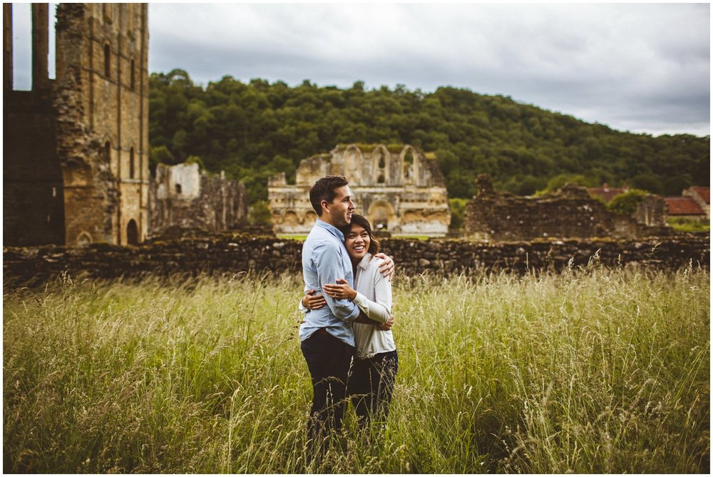 Rievaulx Abbey In Helmsley Engagement Photography_0021.jpg
