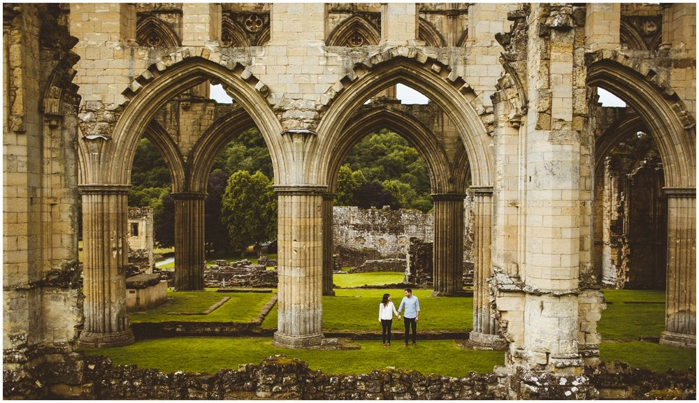Rievaulx Abbey In Helmsley Engagement Photography_0023.jpg